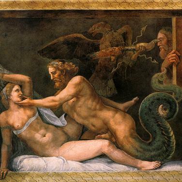 Zeus y Olympia