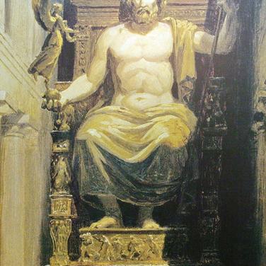 Zeus de Fidias