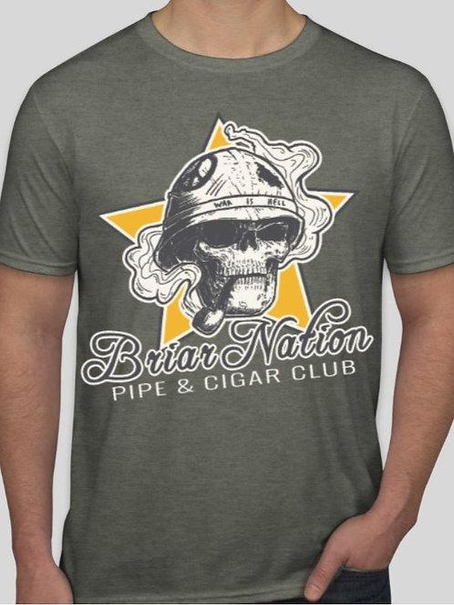 Men's Warrior Skull Shirt