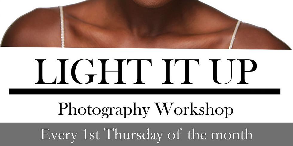 Light It Up: Photography Workshop $75
