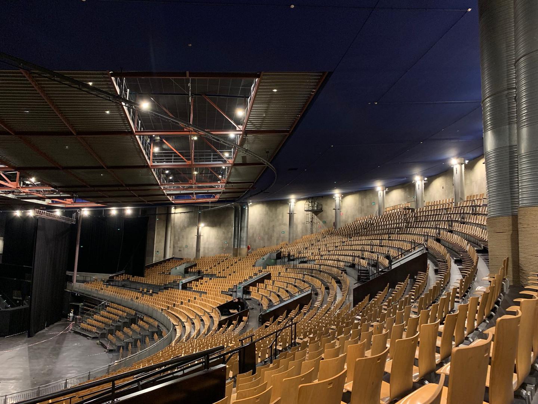 Projecteur LED dimmable / Zénith de Lille