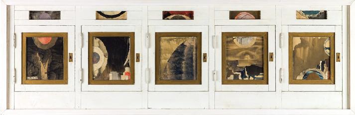 Five  Windows Five Landscapes