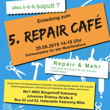 Repaircafé in Nürnberg-Katzwang geht in die 5. Runde!