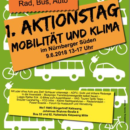 1. Mobilitätstag im Nürnberger Süden
