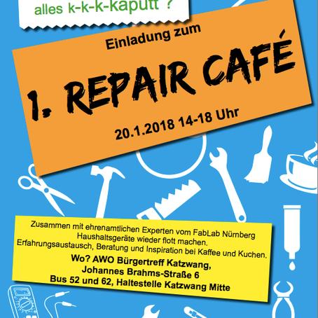 Klimaschutzaktionstage im Nürnberger Süden / Repaircafé
