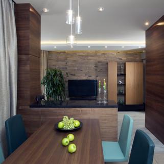 Шпонированные панели и мебель в интерьер