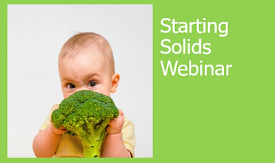 STarting solids webinar