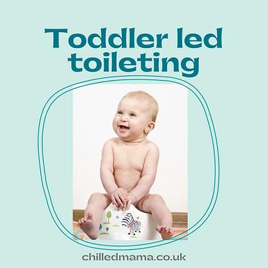 Toddler Led Toileting Facilitator