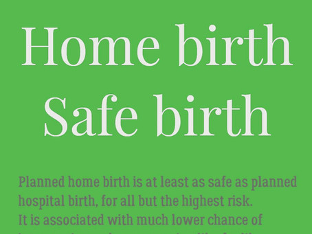 Home birth; safe birth