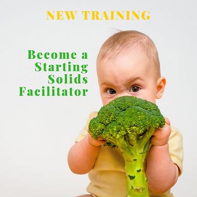 Starting Solids Facilitator