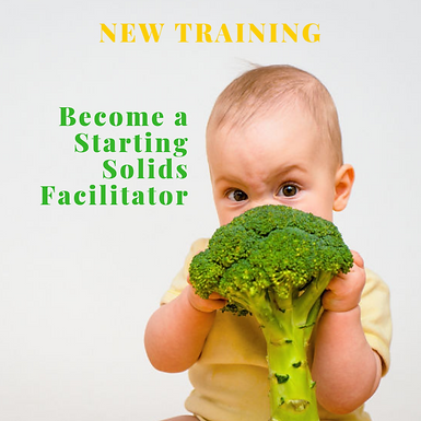 Starting Solids Facilitator