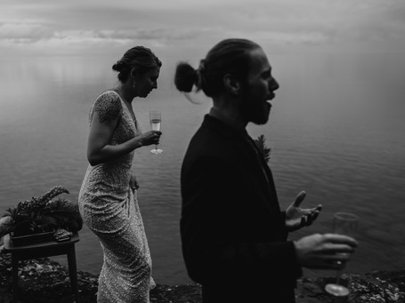Intimate North Shore Cabin Elopement | Tofte, North Shore, MN | Anna + Chancellor