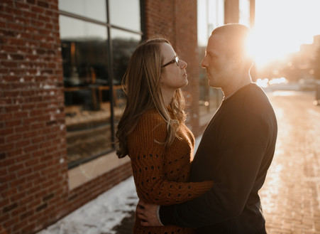 Duluth Engagement Session | Duluth, MN | Julie + Chad