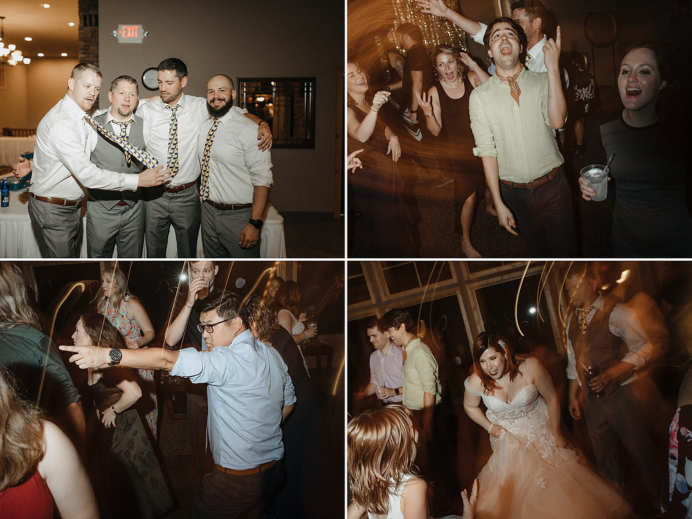 Duluth Wedding Photographer - The Autumn Dog Studio -  various guests dancing during reception