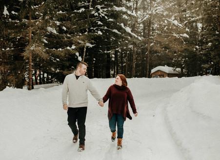 Copper Falls State Park Engagement | Mellen, WI | Chantel + Nolan