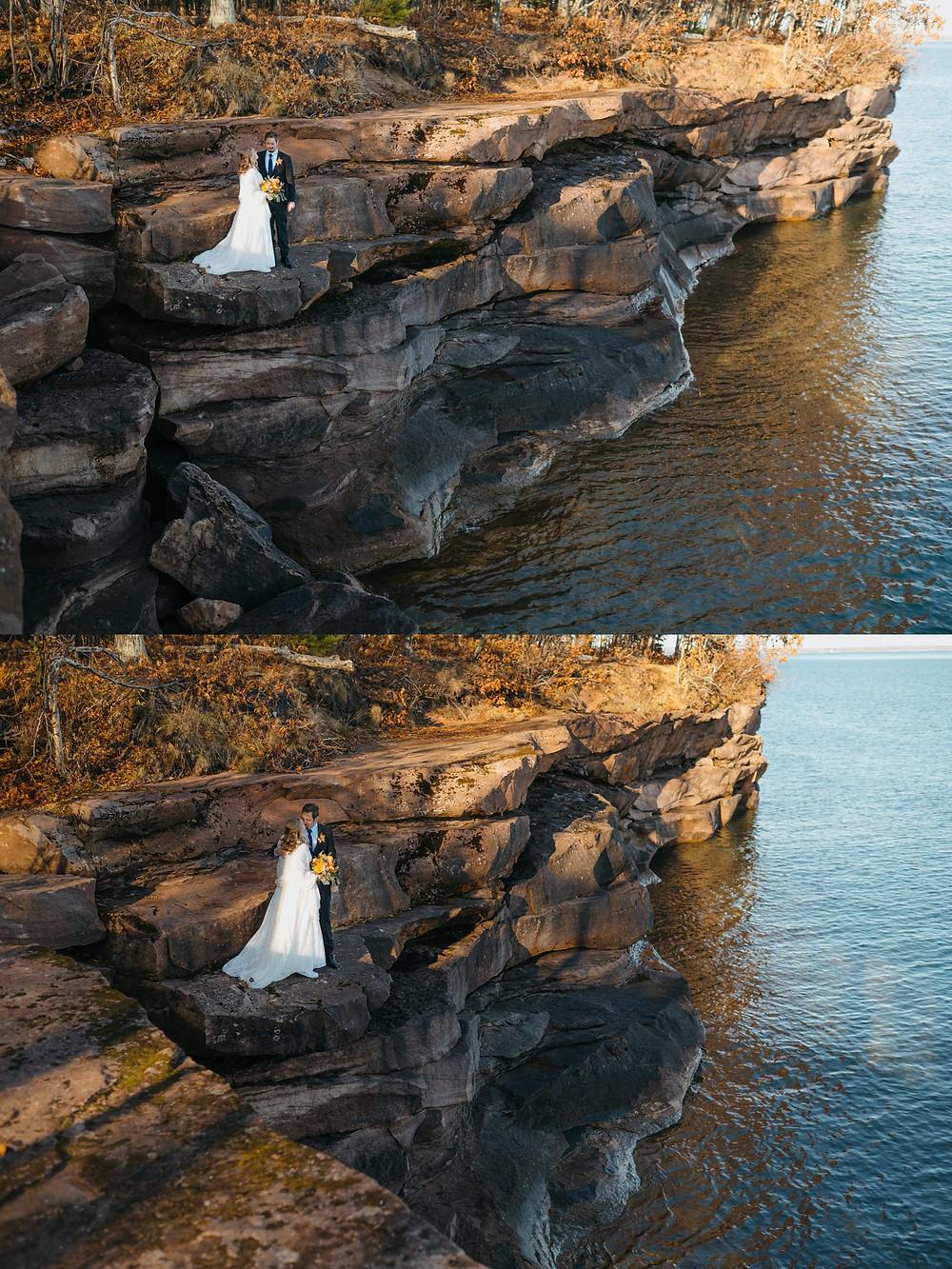 Madeline Island Elopement   Big Bay State Park WI