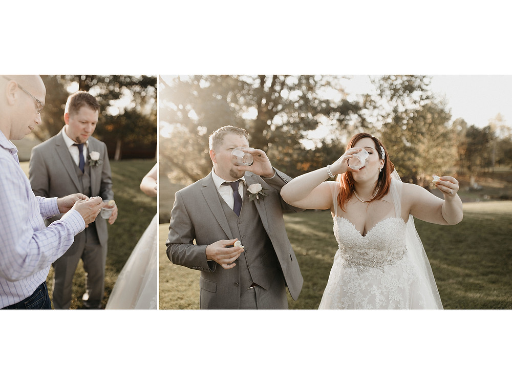 Duluth Wedding Photographer - The Autumn Dog Studio -  bride and groom taking shot