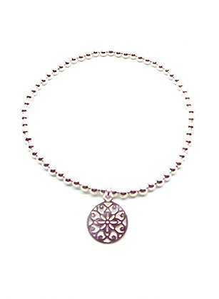 Topkapi Ball Bracelet - Silver