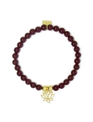 Solange Bracelet - Lotus - Gold