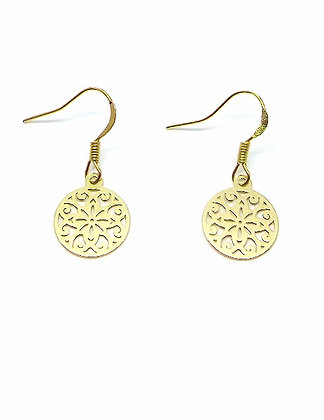 Topkapi Earrings - Gold