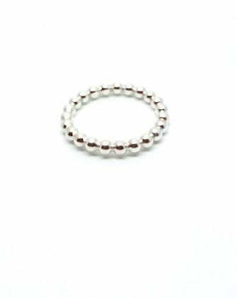 Silver Ball Ring