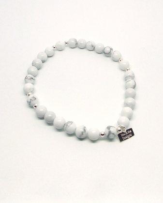 Ivory Bracelet - Silver
