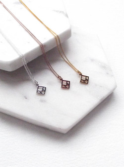 You & Me Designs Tag Necklace