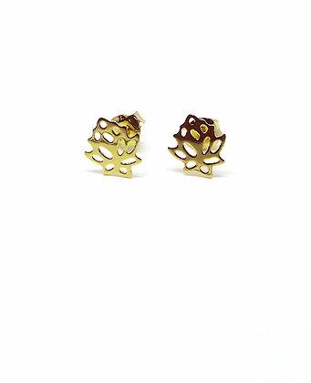 Lotus Studs - Gold