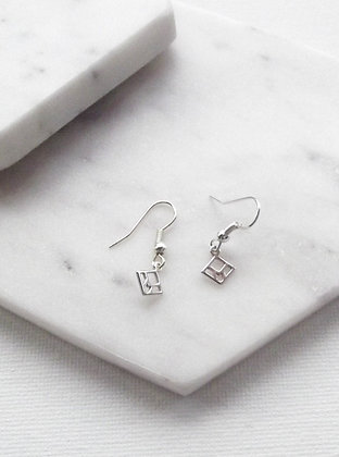 You & Me Staple Earrings