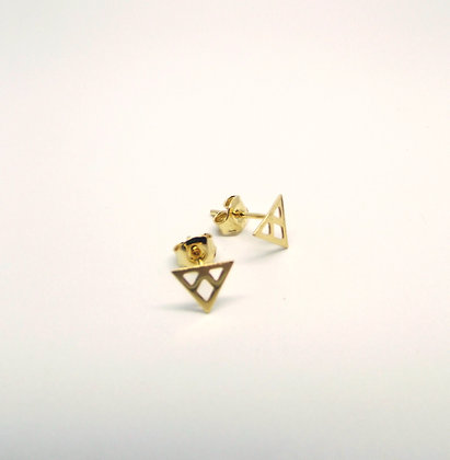 Prism Studs - Gold