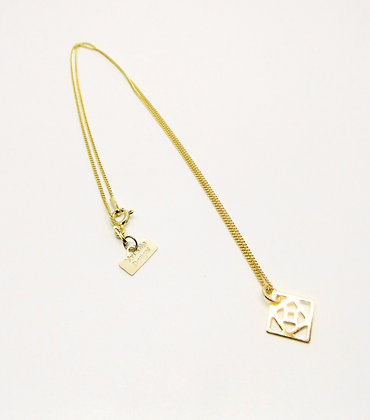 Gold Conundrum Necklace