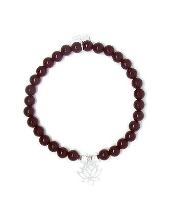 Solange Bracelet - Lotus - Silver