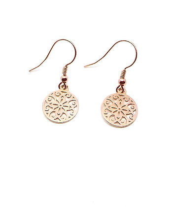Topkapi Earrings - Rose Gold