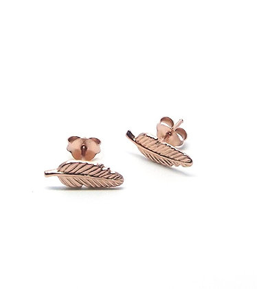 Tully Studs - Rose Gold