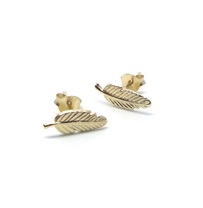 Tully Studs - Gold