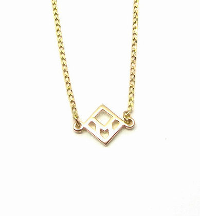 You & Me Staple Necklace - Gold
