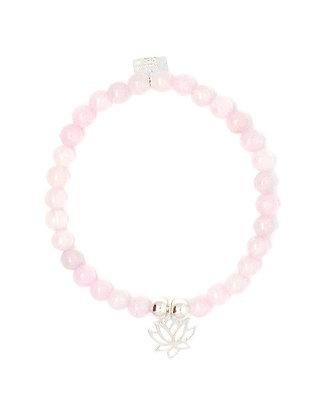 Tasha Bracelet - Lotus- Silver
