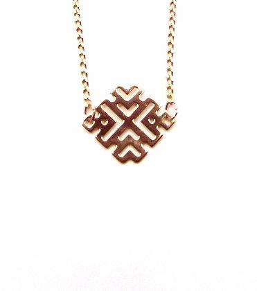 Junita Necklace - Rose Gold