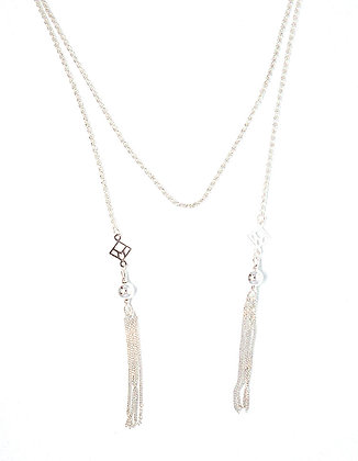 You & Me Tassel Lariat