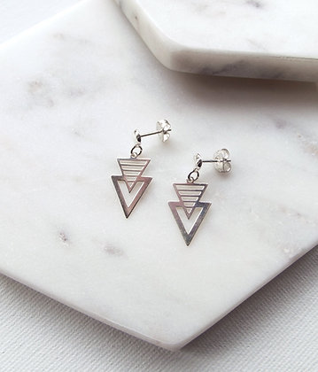 Shevron Earrings