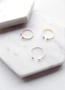 You & Me Designs Dot Ring