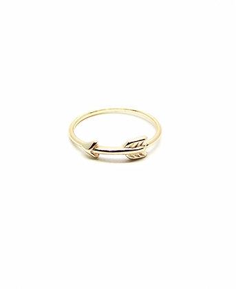 Gold Dart Ring