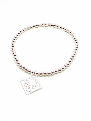 Spiro Ball Bracelet - Silver