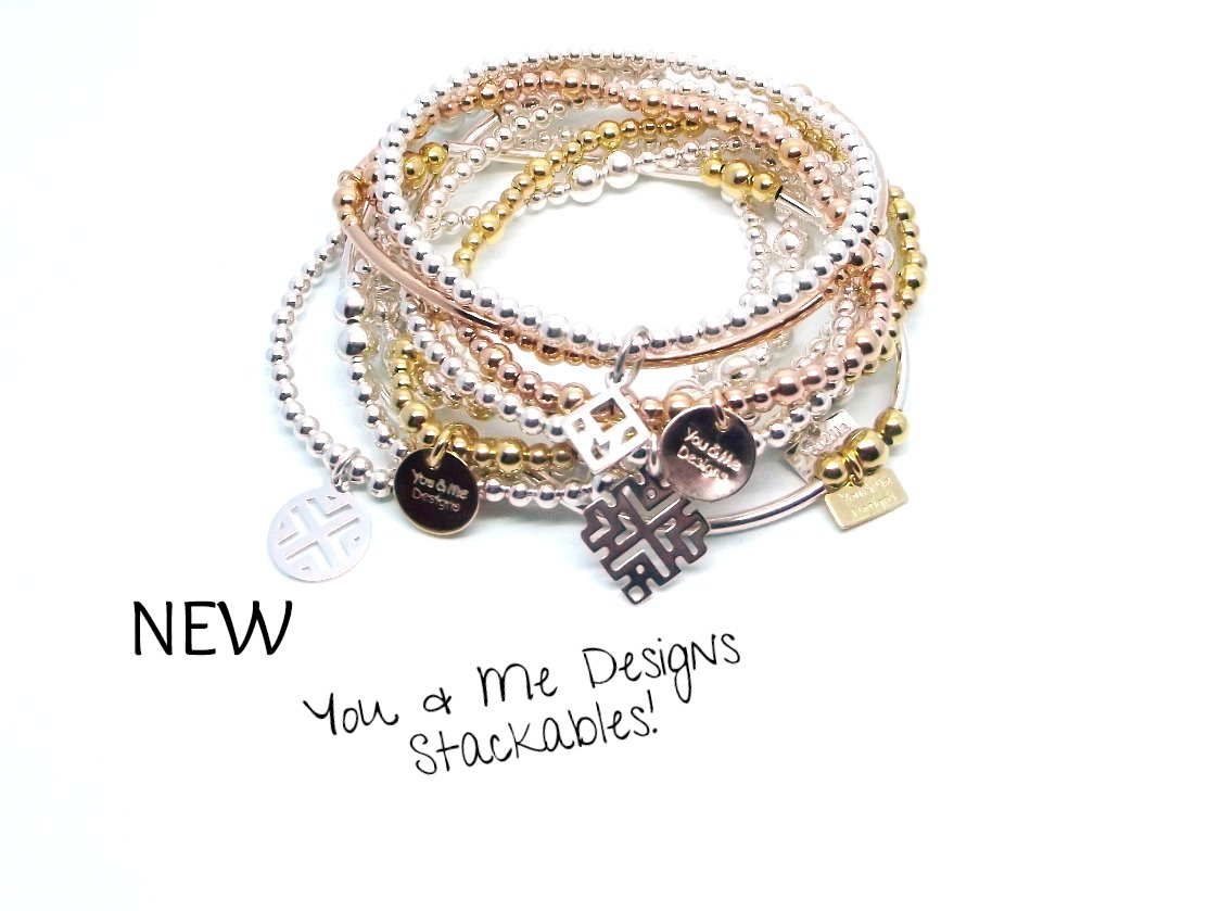 You & Me Designs Stackable Bracelets