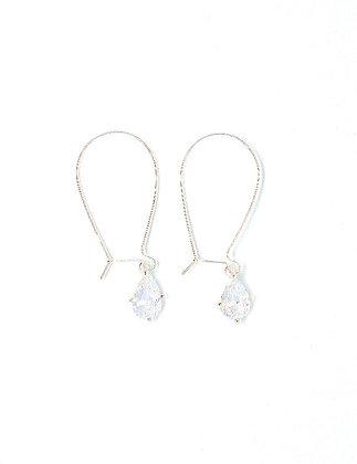 Sasha Earrings - Silver