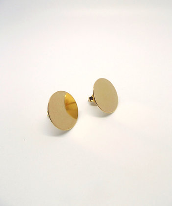 Disk Studs - Gold