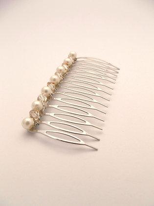 Pearl & Crystal Hair Silde