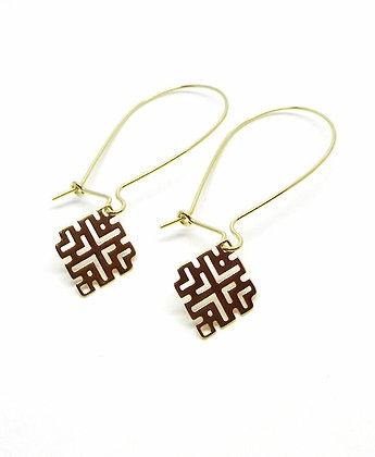 Junita Earrings - Gold