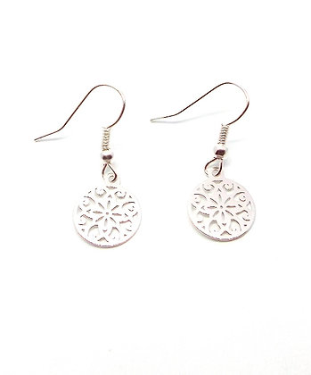 Topkapi Earrings - Silver