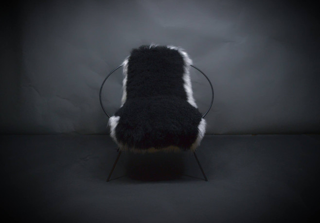 Designer Metal Chair Lounger